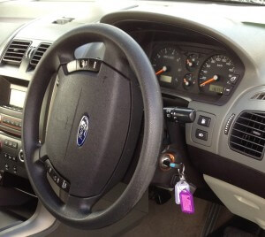 Ford Territory Ignition and dash