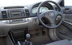2001 Toyota Camry interior